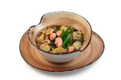КОМБО Мисо суп с лососем 300г