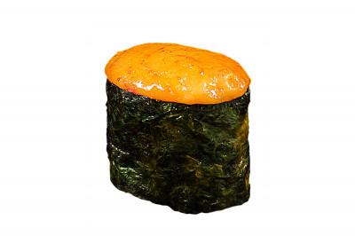 Гункан запеченный с лососем 45г