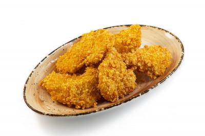 Куриные кусочки в кукурузной панировке 225г